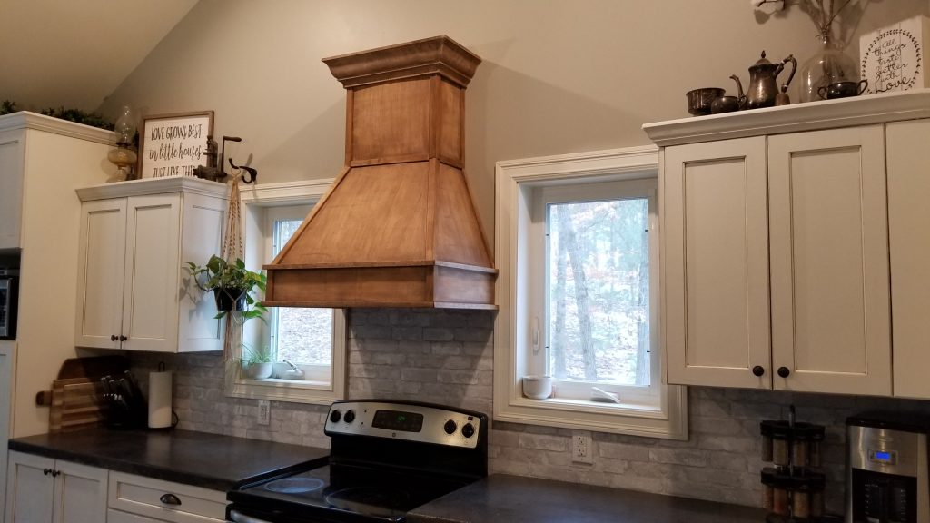 Diy Rustic Range Hood The Homemade Abode